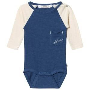 eBBe Kids Boys Commission All in ones Blue Hoger Baby Body Nordic Blue