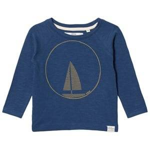 eBBe Kids Boys Commission Tops Blue Henry Raglan Tee Nordic Blue