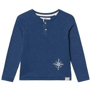 eBBe Kids Boys Commission Tops Blue Harald Grandpa Tee Nordic Blue