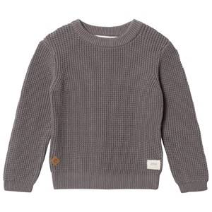 eBBe Kids Unisex Commission Jumpers and knitwear Grey Sempre Knitted Sweater Grey Waffle