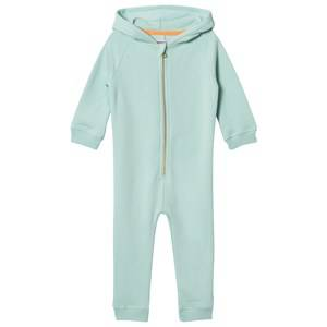 Filemon Kid Unisex All in ones Blue Onesie Sleepy Panda Eggshell Blue