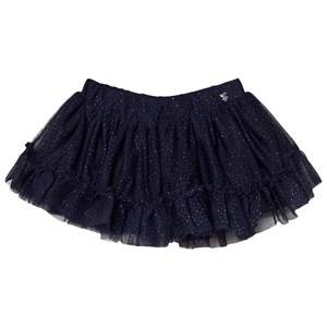 Mayoral Girls Skirts Navy Navy Glitter Tulle Skirt