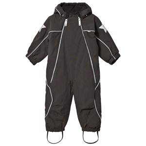Image of Molo Unisex Coveralls Black Pyxis Baby Snowsuit Pirate Black