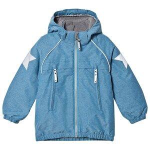 Image of Molo Unisex Coats and jackets Blue Castor Jacket Blue Mountain