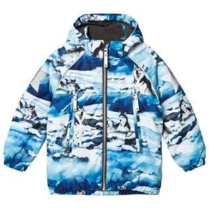 Image of Molo Unisex Coats and jackets Blue Castor Jacket Husky