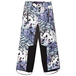 Molo Girls Bottoms Purple Jump Pro Woven Pants Fine Feather