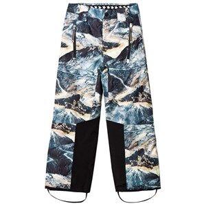 Molo Unisex Bottoms Grey Jump Pro Woven Pants Mountain Range