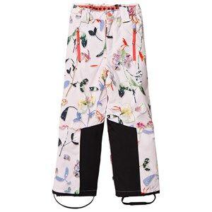 Molo Girls Bottoms White Jump Pro Woven Pants Paper Petals
