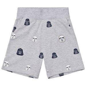 Fabric Flavours Boys Shorts Grey Grey Star Wars Empire Sweatshorts