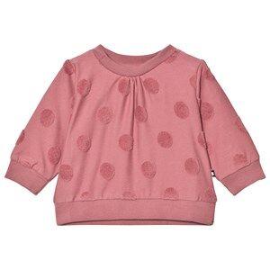 Molo Girls Jumpers and knitwear Grey Dena Sweater Fox Glove