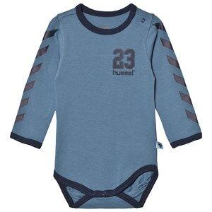 hummelkids Boys All in ones Josef Baby Body Copen Blue