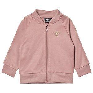 hummelkids Unisex Coats and jackets Tulle Zip Jacket Wood Rose