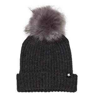 Molo Unisex Headwear Grey Kikki Hats Dark Grey