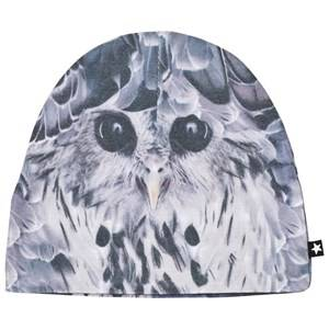 Image of Molo Unisex Headwear Black Kay Hats Hidden Owl