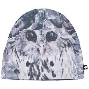 Molo Unisex Headwear Black Kay Hats Hidden Owl