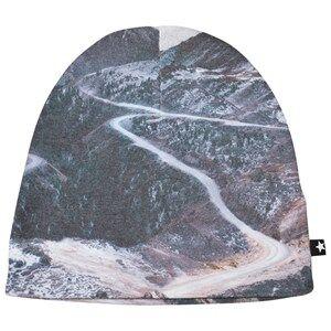 Molo Unisex Headwear Blue Kay Hat Mountain Range