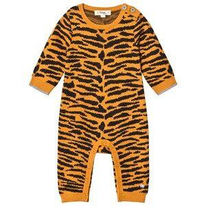 The Bonnie Mob Unisex All in ones Orange Tiger Stripe One-Piece Honey