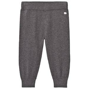 The Bonnie Mob Unisex Bottoms Grey Knitted Jogging Pants Dark Grey