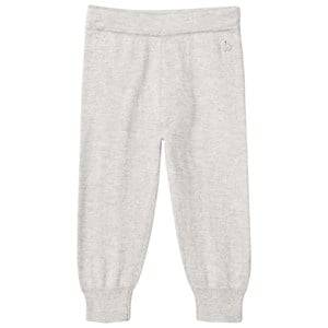 The Bonnie Mob Unisex Bottoms Grey Knitted Jogging Pants Pale Grey