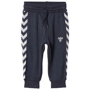 hummelkids Unisex Bottoms Altevann Pants Blue Nights