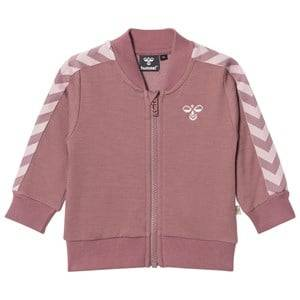 hummelkids Unisex Coats and jackets Purple Istind Zip Jacket Grape Shake