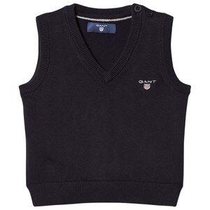 Gant Boys Jumpers and knitwear Navy Navy V Neck Knit Vest