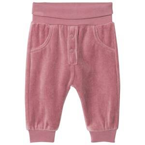 Hust&Claire; Girls Bottoms Purple Velour Sweatpants Baby Plum