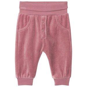 Hust&Claire; Girls Bottoms Purple Velour Sweatpants Baby Plum