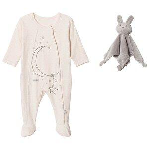 Hust&Claire; Unisex Nightwear Cream Pyjamas Cream