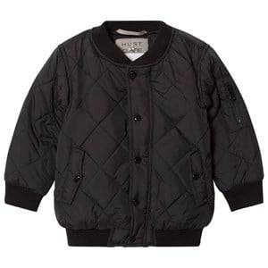 Hust&Claire; Boys Coats and jackets Black Bomber Jacket Black