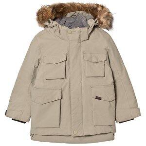 Image of Molo Unisex Coats and jackets Grey Parker Jacket Aluminium