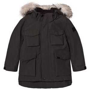 Image of Molo Unisex Coats and jackets Black Parker Jacket Pirate Black
