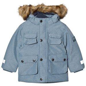 Image of Molo Unisex Coats and jackets Blue Horizon Jacket Bluestone