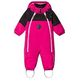 Lindberg Girls Coveralls Pink Brighton Baby Snowsuit Cerise