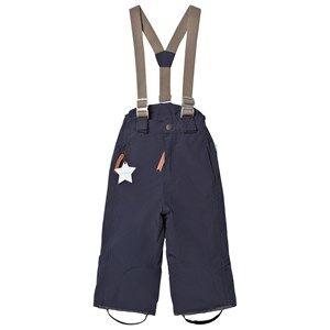 Mini A Ture Unisex Bottoms Navy Witte K Pants Blue Nights