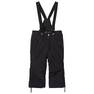 Ver de Terre Unisex Bottoms Black Ski Pants Black
