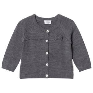 Image of Hust&Claire; Girls Jumpers and knitwear Grey Knit Cardigan Antracite Melange