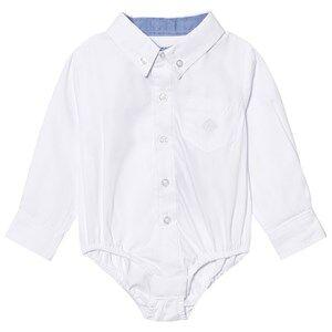 Andy & Evan Boys Tops White White Oxford Button Down Shirtzie