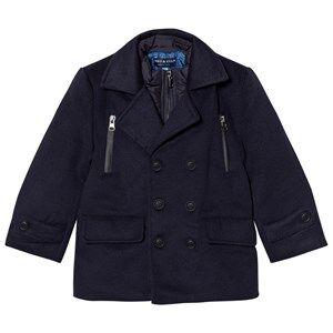 Andy & Evan Boys Coats and jackets Navy Navy Peacoat