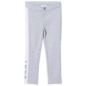DKNY Girls Bottoms Grey Grey Jersey Branded Slim Sweat Pants