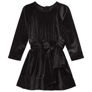 Kiss How To Kiss A Frog Girls Dresses Black Adele Dress Velvet Black