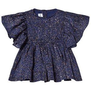 Kiss How To Kiss A Frog Girls Dresses Blue Tanya Dress Night Leo