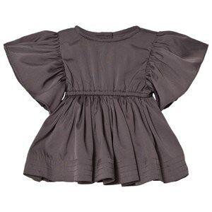 Kiss How To Kiss A Frog Girls Dresses Grey Tanya Dress Dark Grey