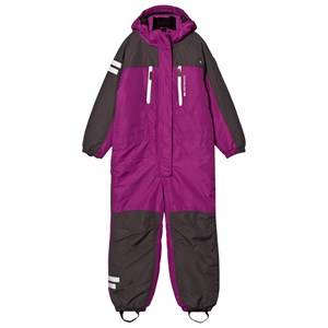 Lindberg Girls Coveralls Pink Vail Snowsuit Dahlia