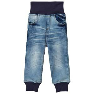 Nova Star Unisex Bottoms Blue Denim Pants Original Stretch