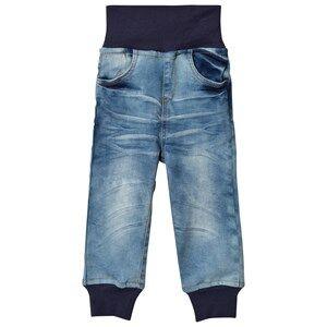 Nova Star Unisex Bottoms Blue Denim Pants Original Stretch
