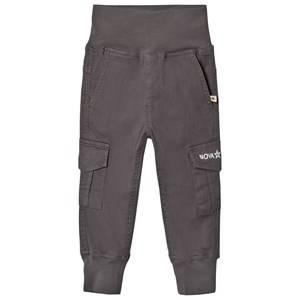 Nova Star Unisex Bottoms Grey Cargo Trousers Grey