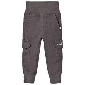 Nova Star Unisex Bottoms Grey Cargo Trousers Grey