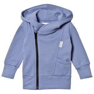 Gugguu Unisex Jumpers and knitwear Blue College Hoodie Ice Blue/Black