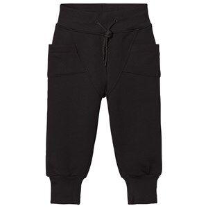 Gugguu Unisex Bottoms Black College Baggy Pants Black